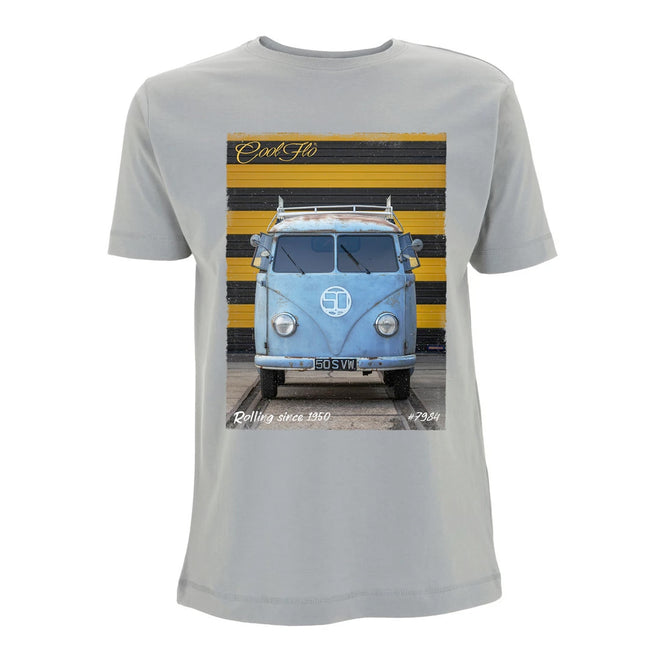 Cool Flo 70th Anniversary T-shirt in Sport Grey