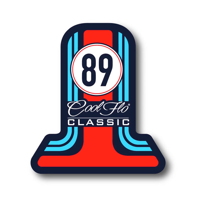 '89 Classic Decal - Cool Flo