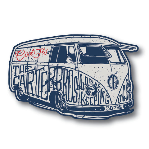 Trax Decal - GWTF White
