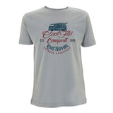 Cool Flo Campout T-shirt in Sport Grey