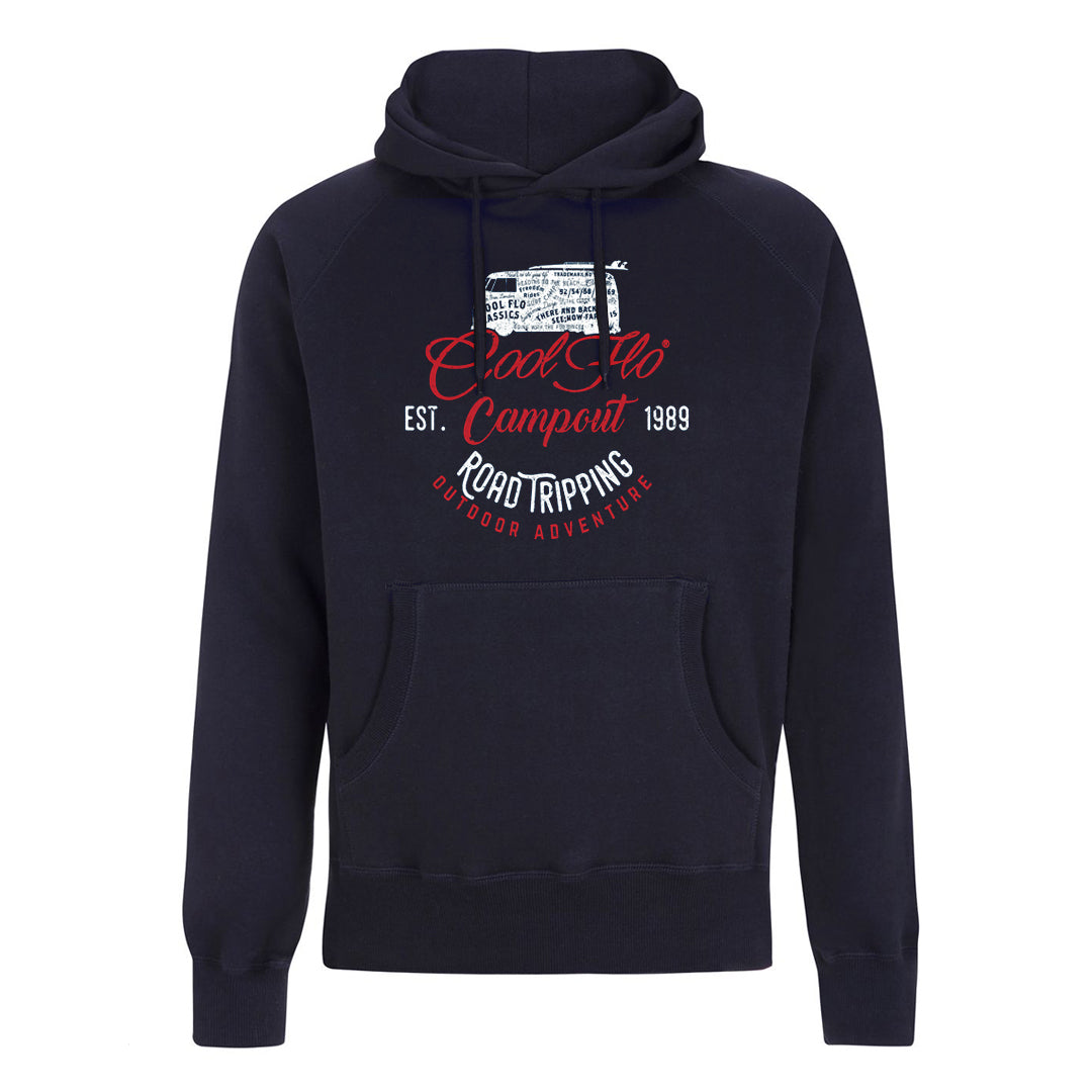 Campout Navy Hoody - Cool Flo