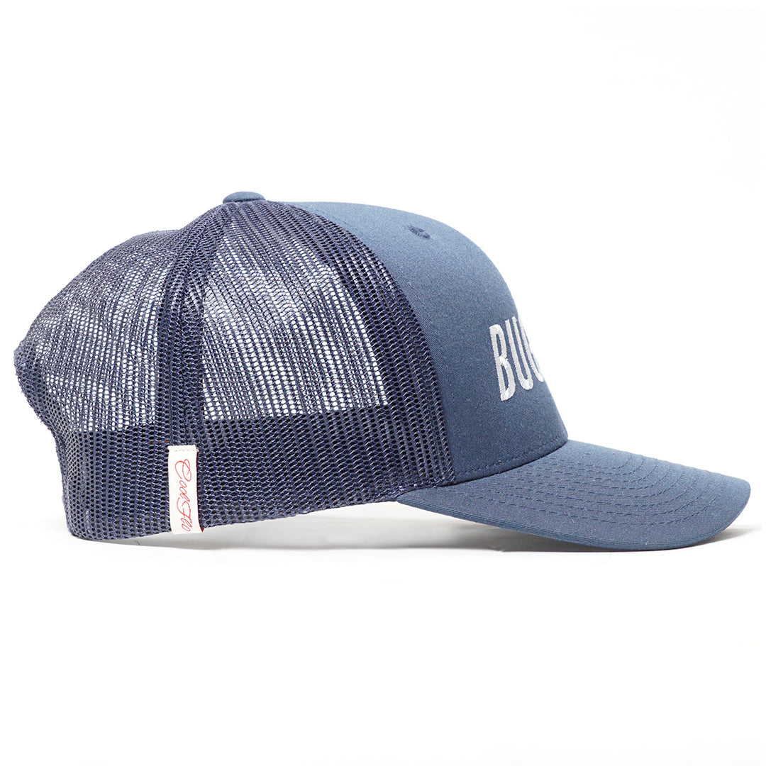 Bug Flo Navy Trucker Cap - Cool Flo