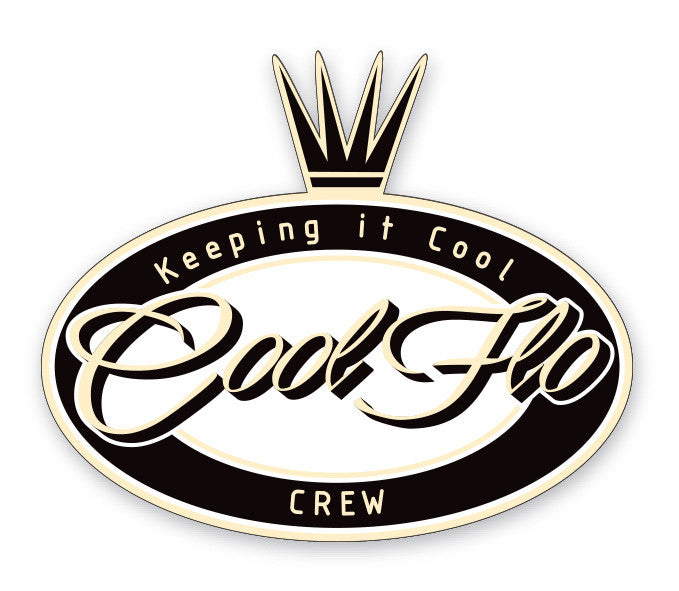 Oval Crown Decal - Cool Flo