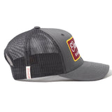 Since '89 Badge Grey Trucker Cap - Cool Flo