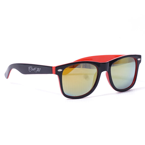 Sunglasses Black and Orange
