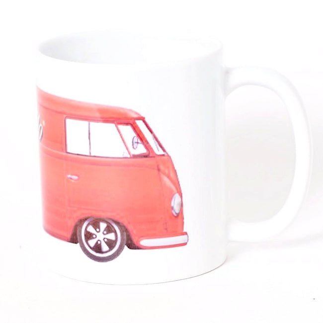 Cool Flo Red Bus Mug - Cool Flo