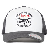 Front view of Urban Sport Contrast Trucker Cap - Cool Flo