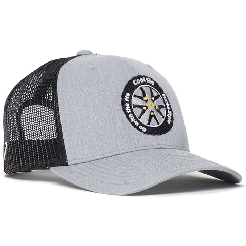 Treading Waves Black Two-tone Snapback Cap