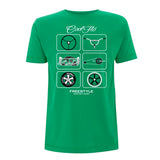 Cool Flo Freestyle T-shirt in Green