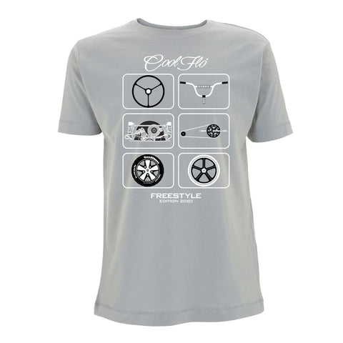 70th Anniversary Grey T-shirt
