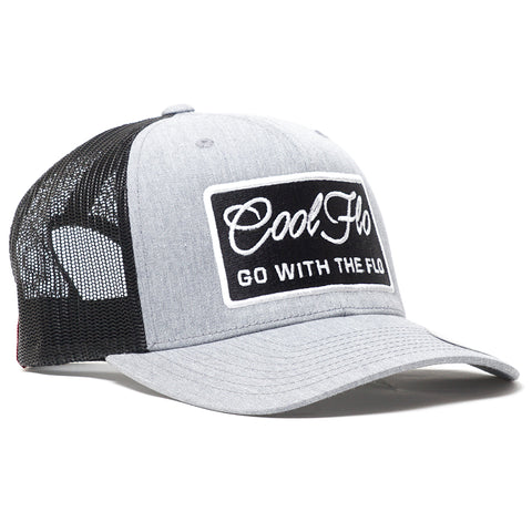 Go With The Flo Contrast Trucker Cap