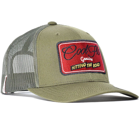 Bug Flo Navy Trucker Cap