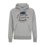 Campout VW campervan Grey Hoody - Cool Flo