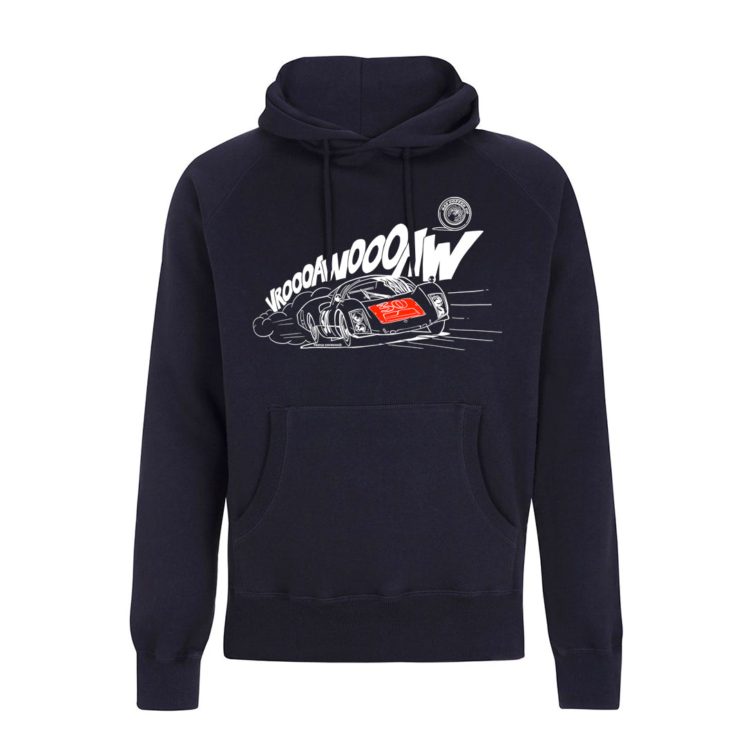 Gas Coffee - Navy Porsche 906 hoody