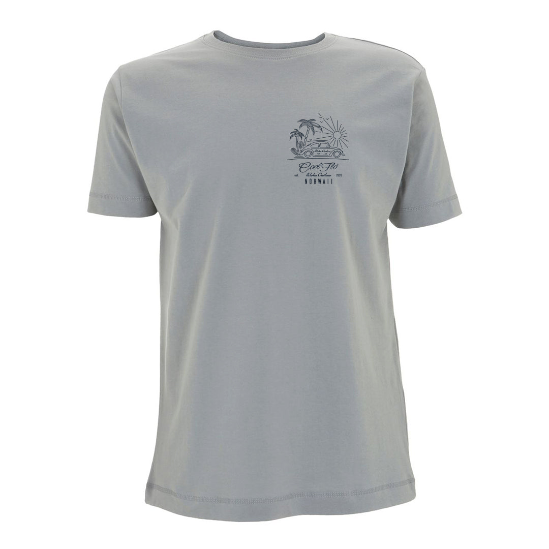 Outlaw Bug Sport Grey t-shirt front - Cool Flo