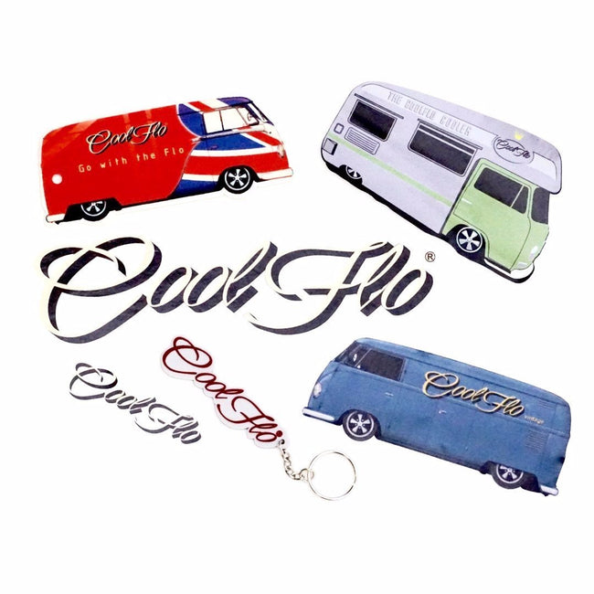 Ride Cool Decal Selection Pack - Cool Flo