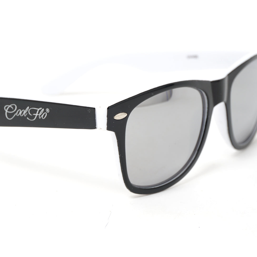 Sunglasses Black and White - Cool Flo