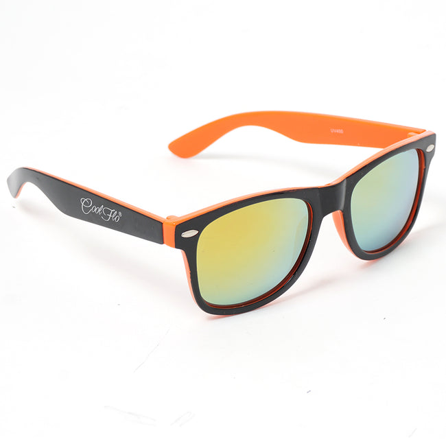 Sunglasses Black and Orange - Cool Flo