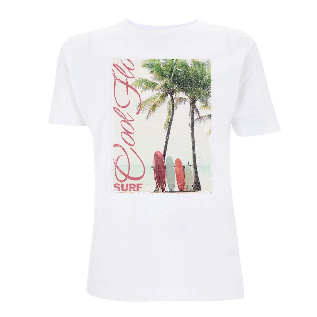 Cool Flo Surf t-shirt in White