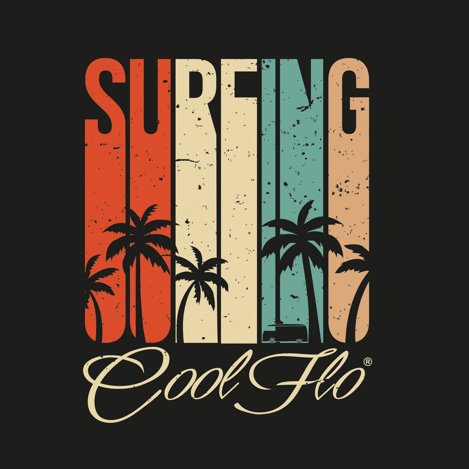 NEW ARRIVAL Summer Surfing Tee - Cool Flo