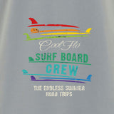 Surfboard Crew Grey T-shirt