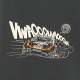Gas Coffee - Charcoal Grey 935 tee - close-up
