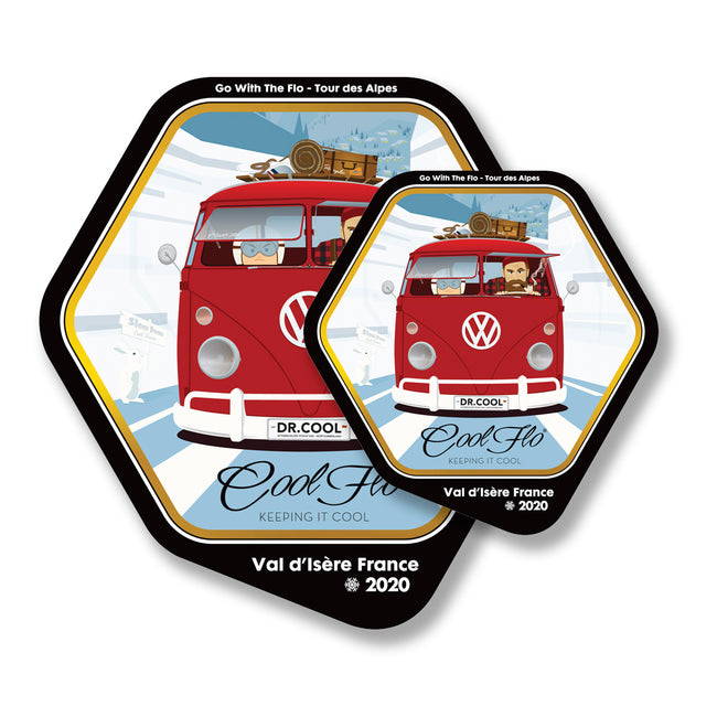 2020 Tour Decal - Twin Pack - Cool Flo