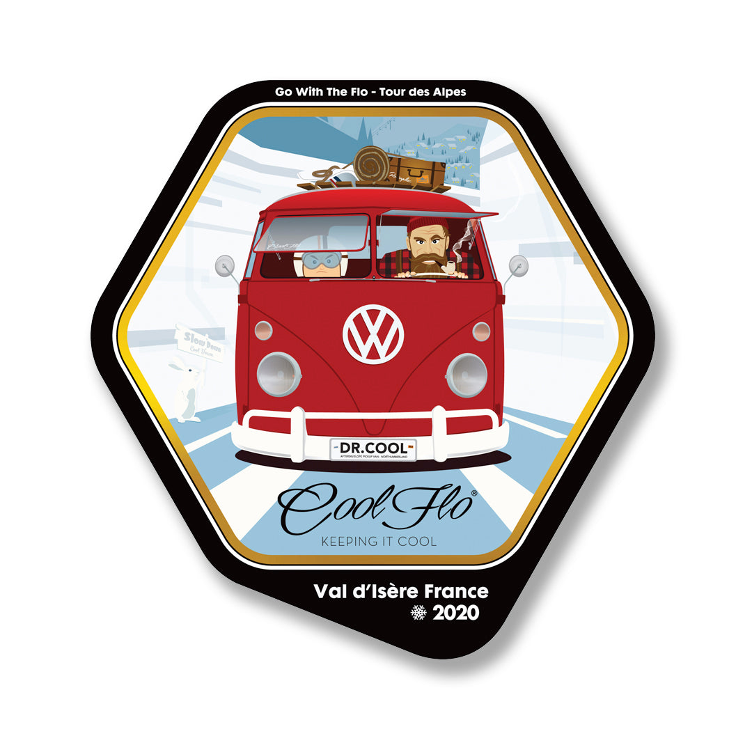 2020 Tour Decal - Small - Cool Flo