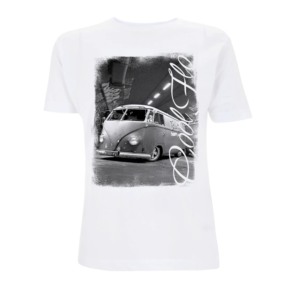 Cool Flo Tunnel T-shirt in white