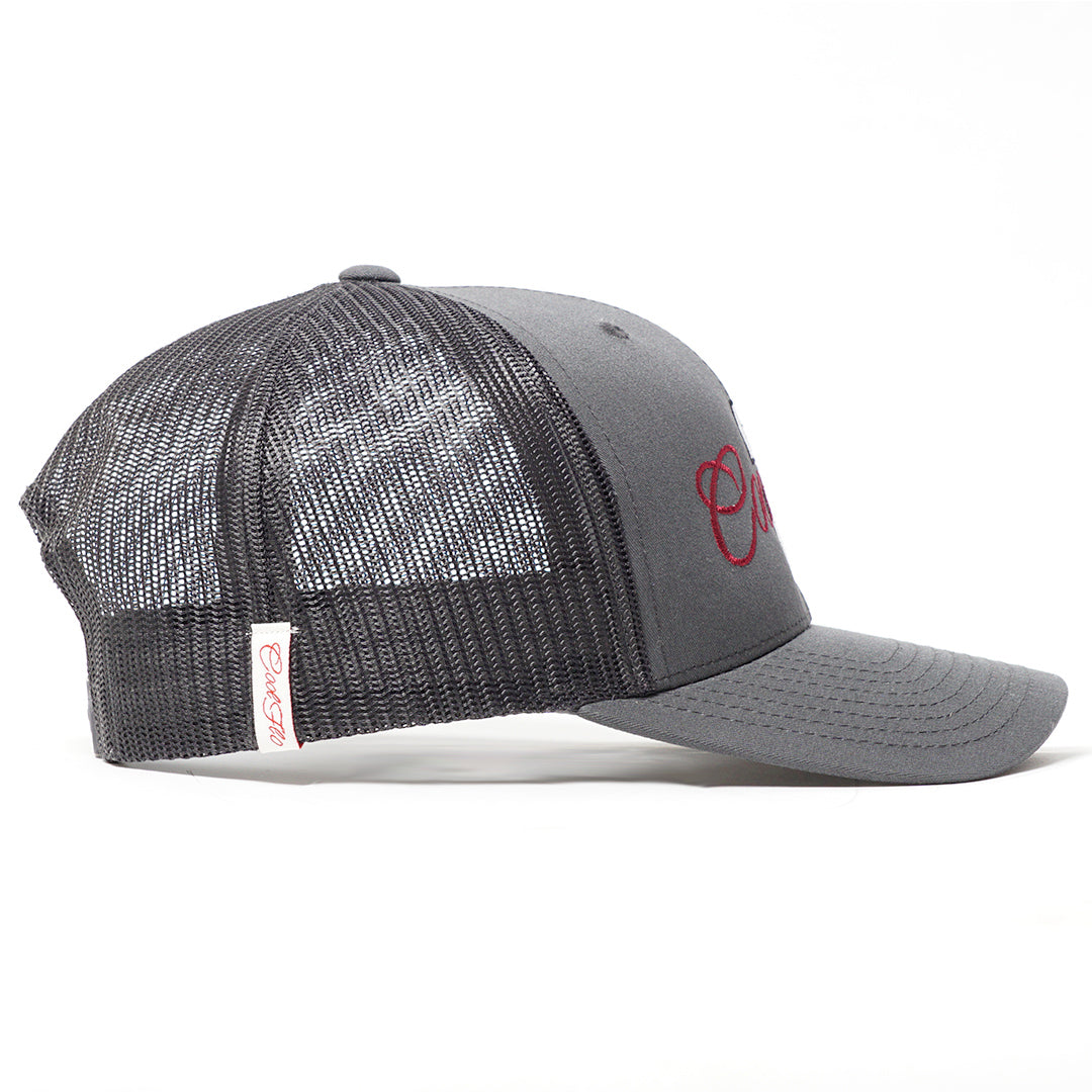 Type 2 Grey Trucker Cap - Cool Flo