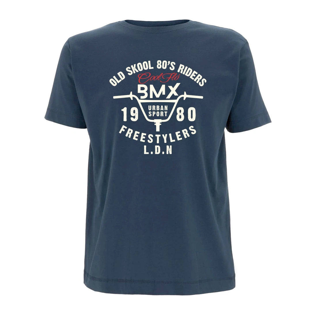 Cool Flo Urban Sport t-shirt in Denim Blue