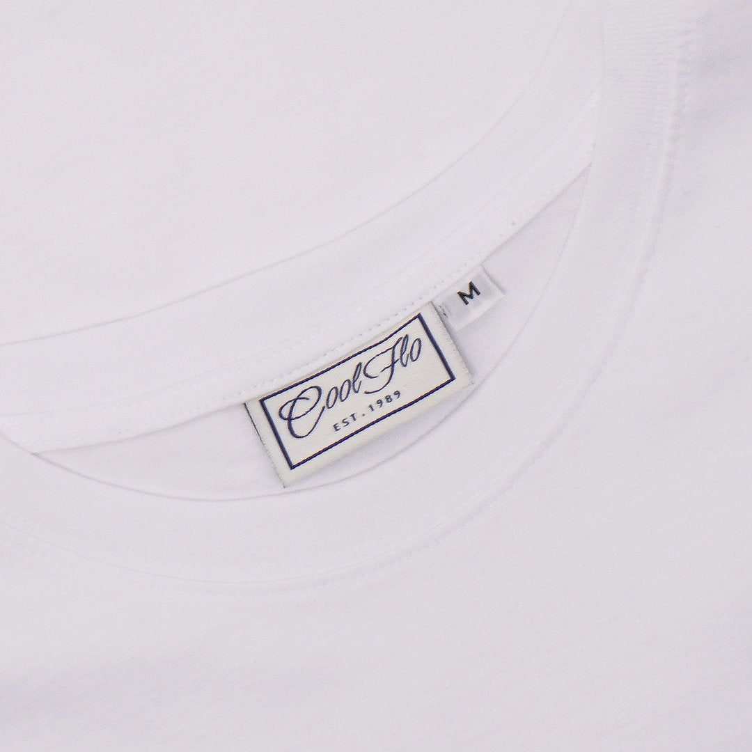 Tunnel White T-shirt - Cool Flo