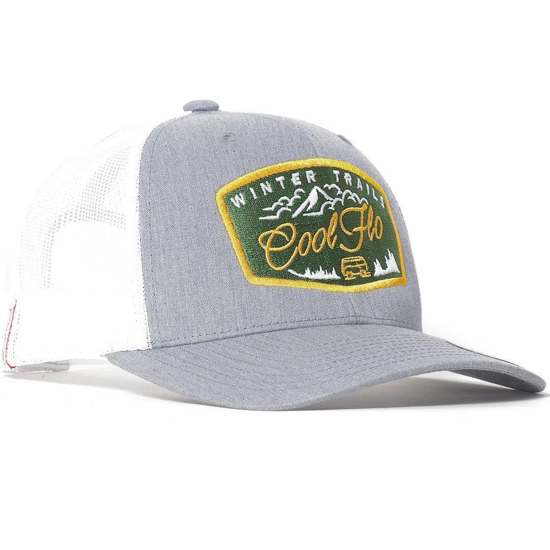 Winter Trails embroidered Cool Flo trucker cap