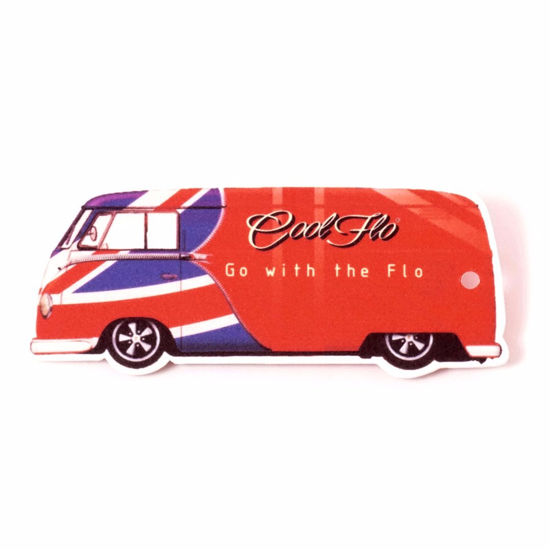 Limited Edition GB Bus Air Freshener - Cool Flo