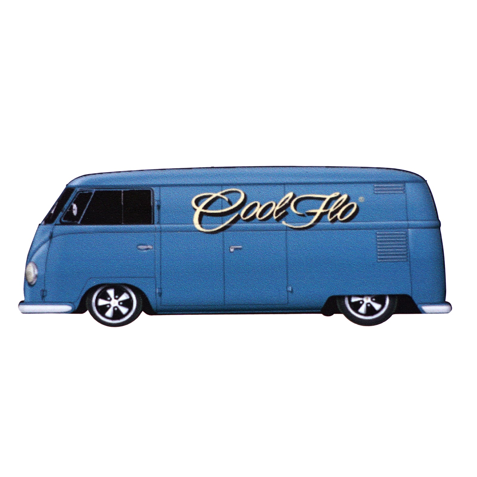 54 Blue Cool Flo Bus Decal - Cool Flo