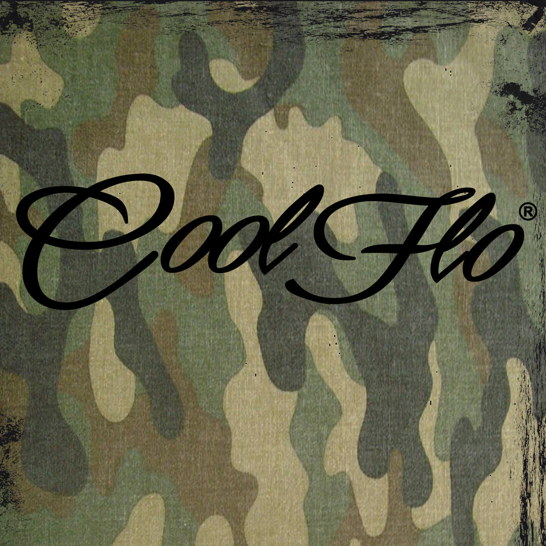 Camo Black T-shirt - Cool Flo