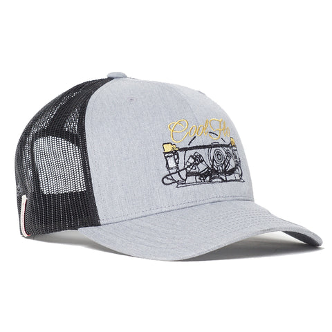Type 2 Grey Trucker Cap
