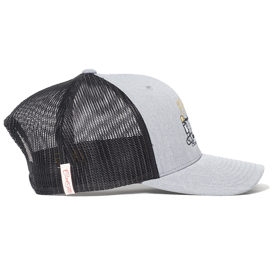 Aircooled Two-tone Trucker Cap - Cool Flo
