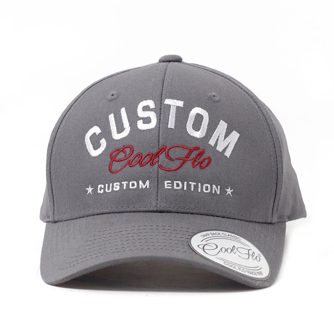 CUSTOM EDITION Name Baseball Cap - Cool Flo