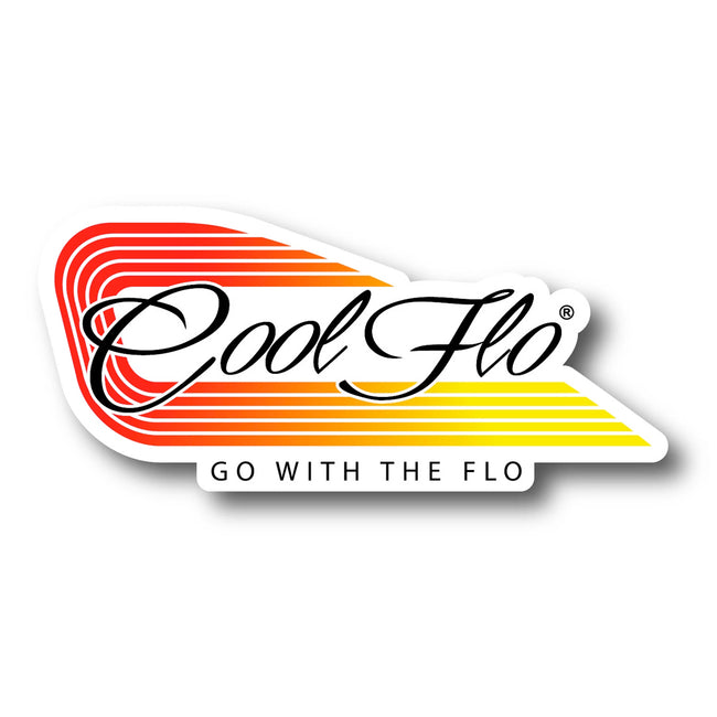 Trax Decal - GWTF White - Cool Flo