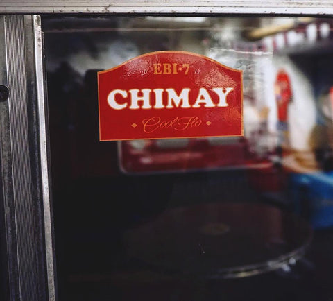 Limited Edition Red Chimay Sticker EBI-7