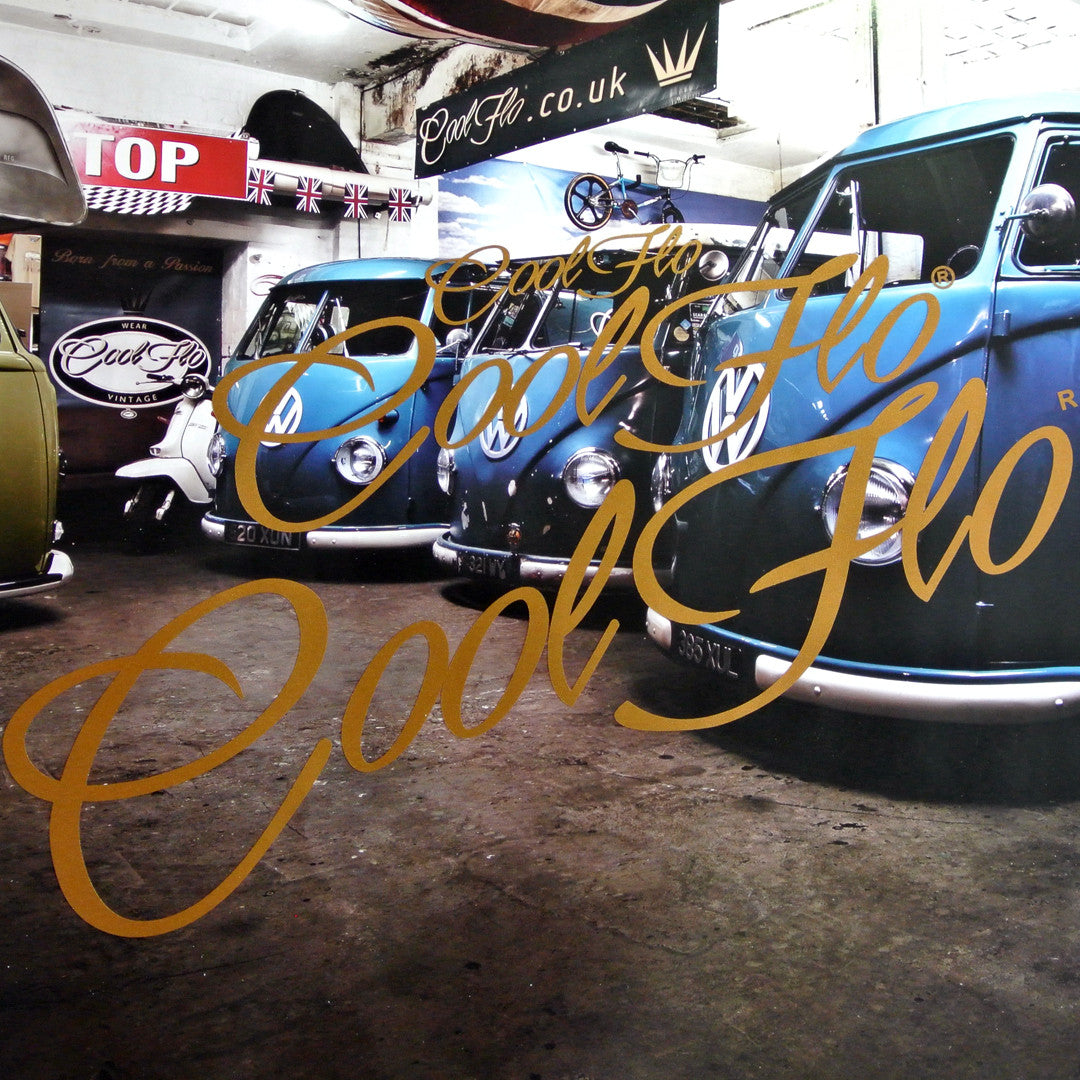 Script Decal 'Ride Pack' - Metal Flake - Cool Flo