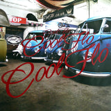 Script Sticker 'Ride Pack' - 54 Red - Cool Flo