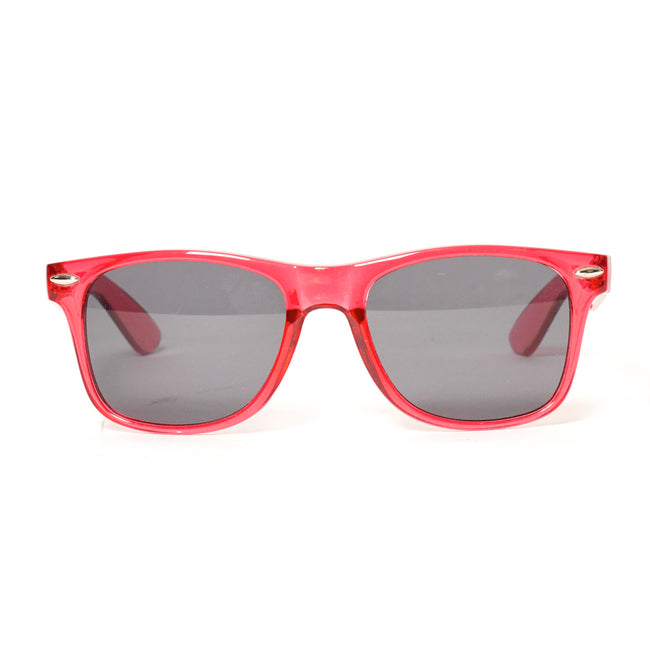 Cool Flo Red Sunglasses (front view)