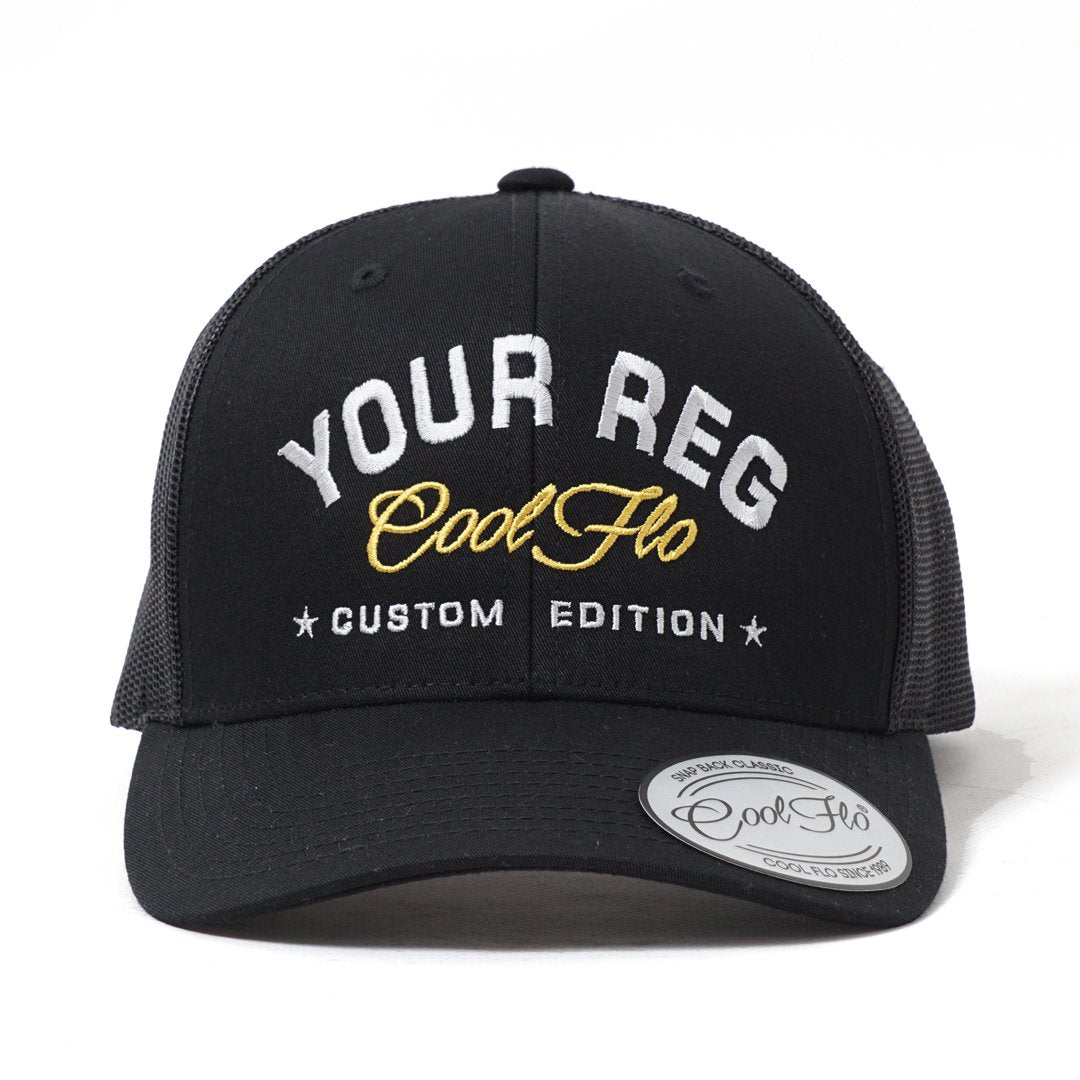 CUSTOM EDITION Reg Baseball Cap - Cool Flo