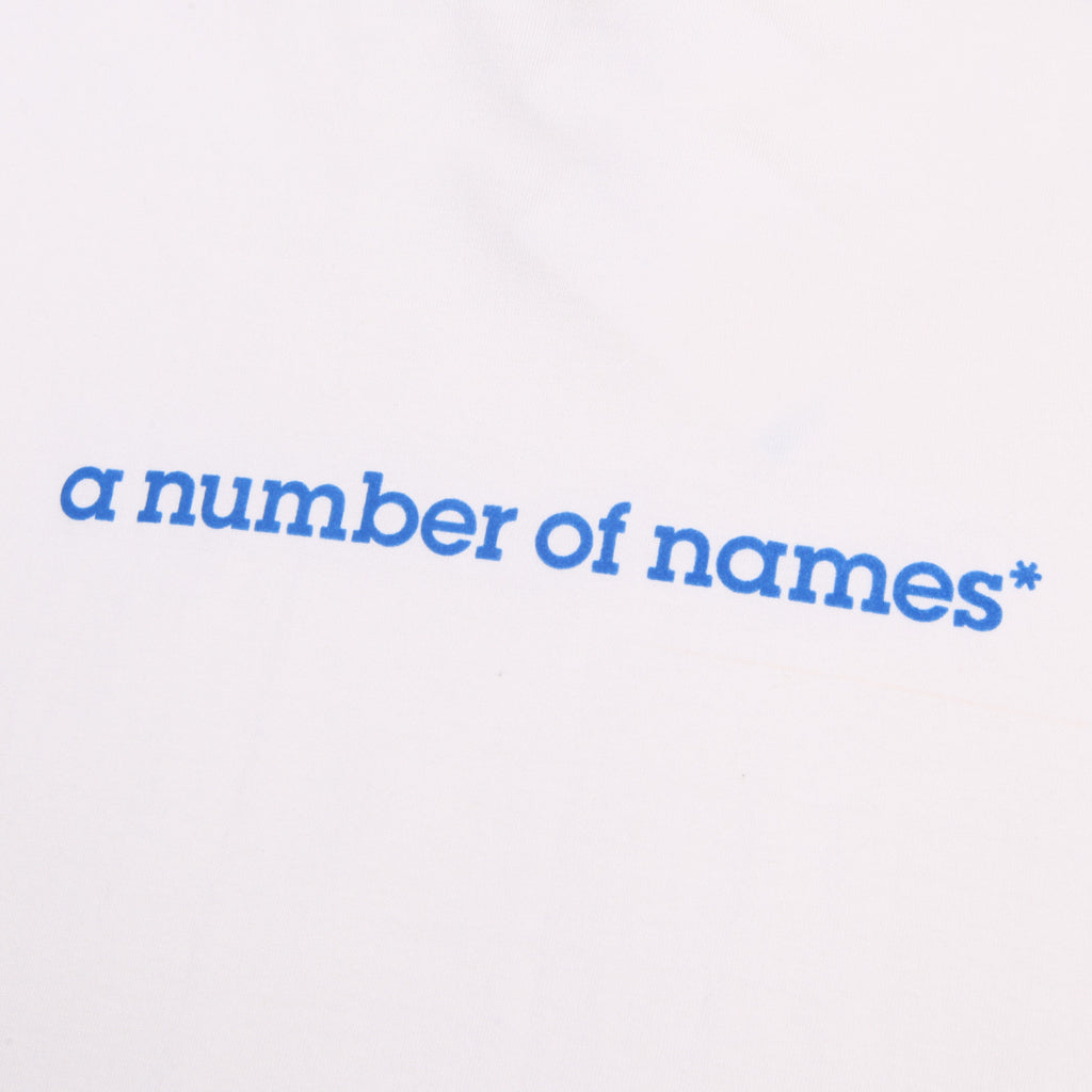 a number of names* Anon Own Brand T-Shirt White
