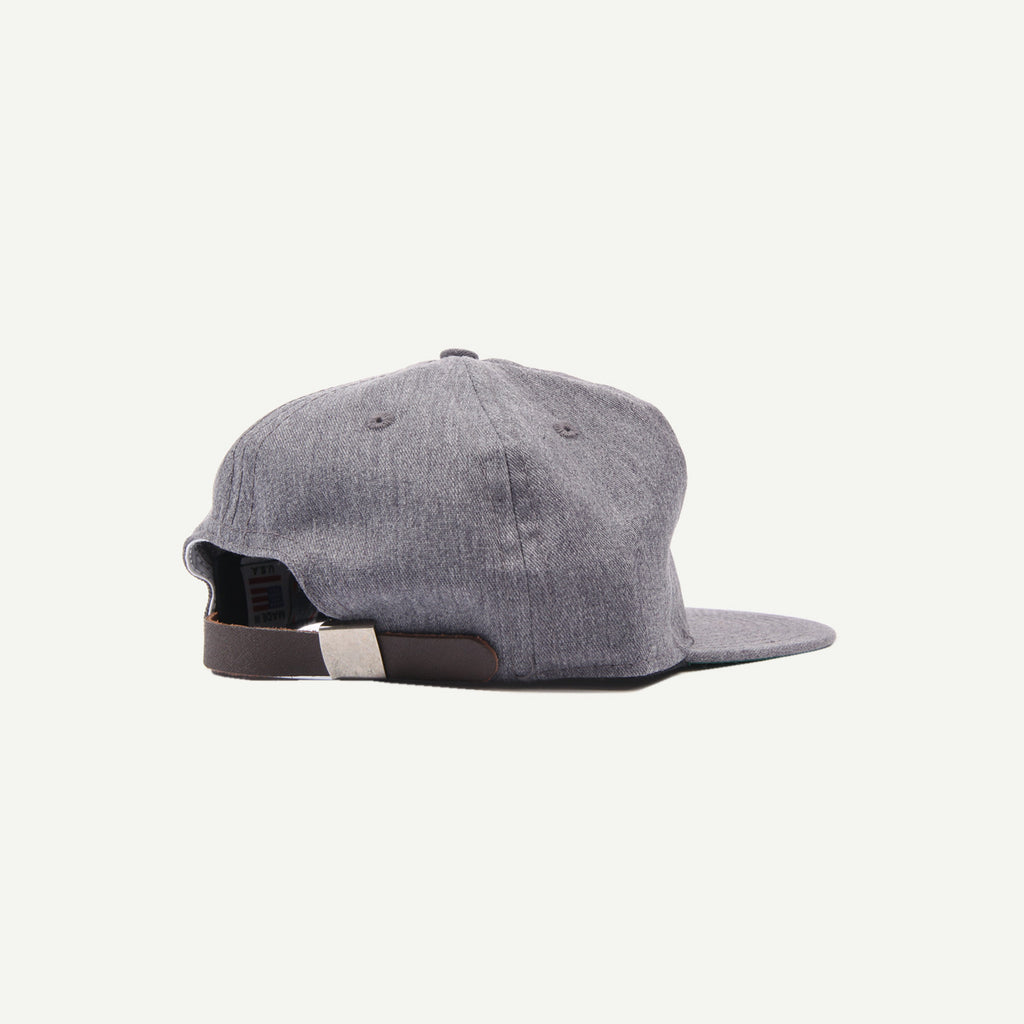 a number of names* Anon* x Ebbets Strapback Cap - Grey