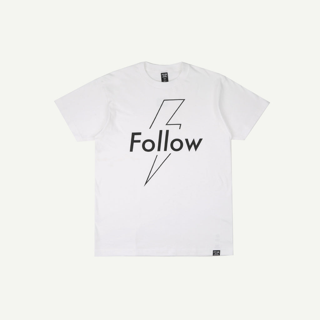 Fpar FPAR FOLLOW TEE - WHITE