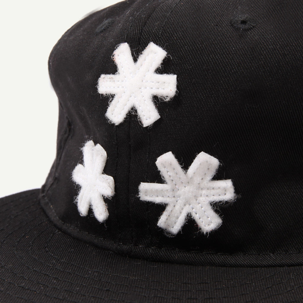 a number of names* Anon* x Ebbets *** Strapback Cap - Black