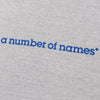 a number of names* Anon Own Brand T-Shirt Grey
